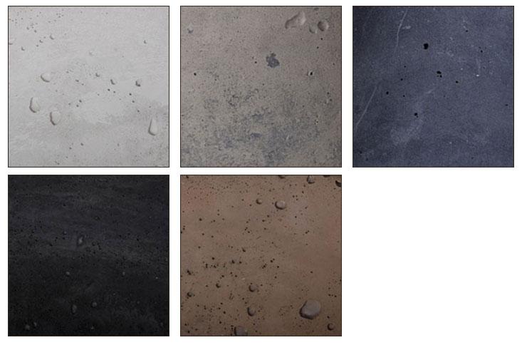 Kolory podstawowe betonu