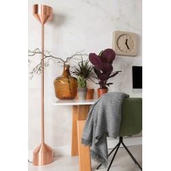 Miedziana lampa podłogowa TORCH - ZUIVER