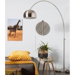 Mosiężna lampa podłogowa BOW - ZUIVER