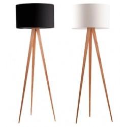 Modna lampa na trzech nogach TRIPOD WOOD - ZUIVER