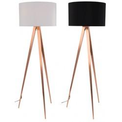 Miedziana lampa na trzech nogach TRIPOD COOPER - ZUIVER