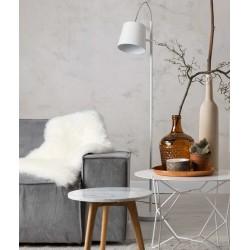 Biała lampa stojąca Buckle Head - Zuiver