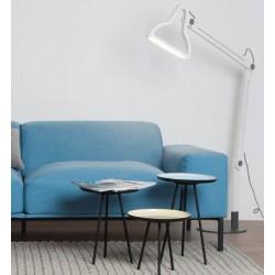 Biała lampa podłogowa LED IT BE - ZUIVER