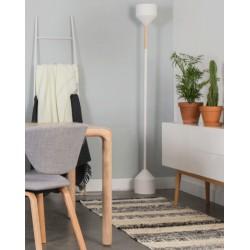 Biała lampa podłogowa TORCH - ZUIVER