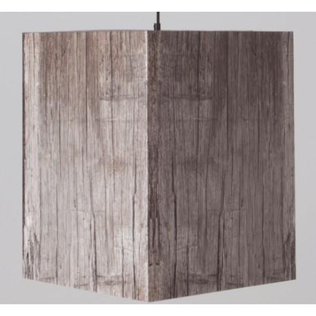 Oryginalna lampa wisząca HEAVY LIGHT szare drewno - Zuiver