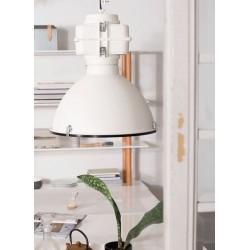 Biała lampa industrialna Vic Industry - Zuiver
