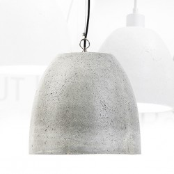 Duża lampa z betonu - Malaga L