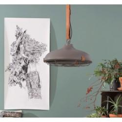 Szara lampa industrialna DEK 51 - Zuiver