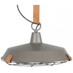 Szara lampa industrialna DEK 40 - ZUIVER