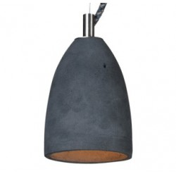 Betonowa lampa wisząca - rozmiar XS