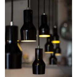 Niewielka lampa wisząca MORA (biała lub czarna) - Zuiver