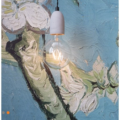 Oryginalna lampa wisząca Mach Concrete - Zuiver