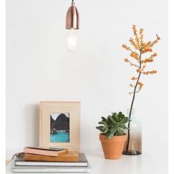 Miedziana lampa wisząca MACH COPPER ZUIVER