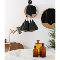 Czarna lampa wisząca PULP SHADES - Zuiver
