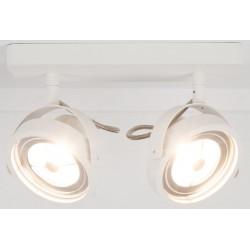 Biały spotlight DICE-2 LED - ZUIVER