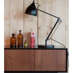 Czarna lampka biurkowa READER - ZUIVER