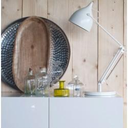 Biała lampka biurkowa READER - ZUIVER