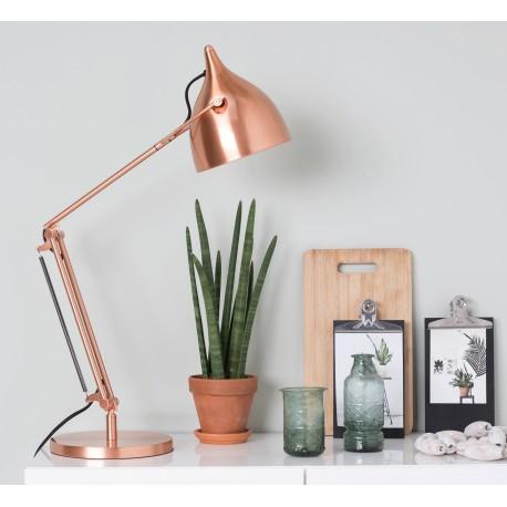 Miedziana lampka biurkowa Reader - Zuiver