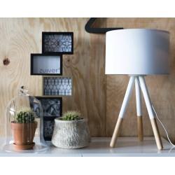 Biała lampa stołowa HIGHLAND – ZUIVER