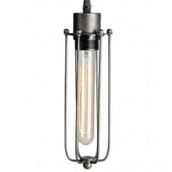 Przemysłowa lampa wisząca - oprawa podłużna