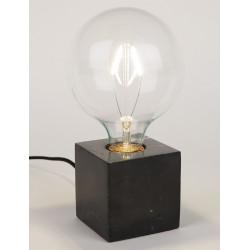 Marmurowa lampa stolowa BOLCH czarna lub biała - Zuiver