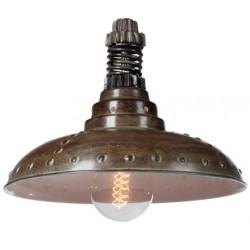 Industrialna lampa wisząca - wersja Brown