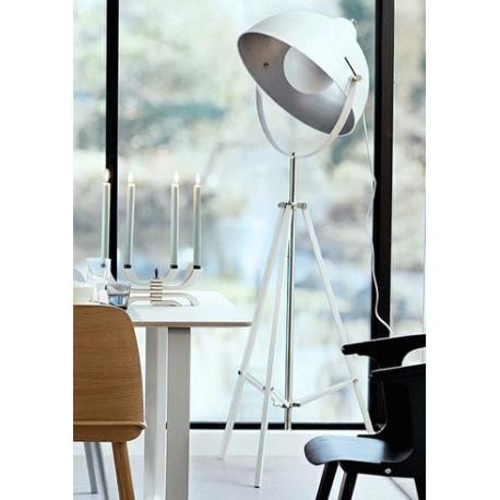 Biała lampa podłogowa Hollywood - It's About RoMi