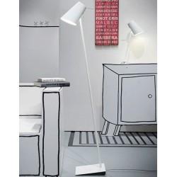 Niezwykła lampa podłogowa Cardiff (biała) - It's About RoMi