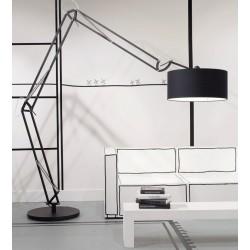 Biała lub czarna lampa podłogowa MILANO XL - It's About RoMi