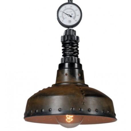 Przemysłowa lampa wisząca Factoria 2 Rusty Brown