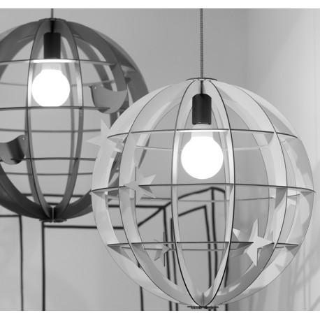Szara lampa wisząca HELSINKI - It's About RoMi