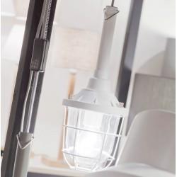 Industrialna lampa wisząca LEEDS (czarna, biała lub szara) - It's About RoMi