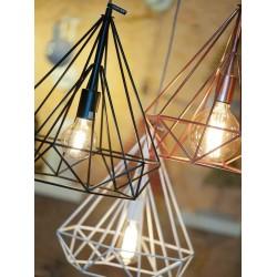 Industrialna lampa wisząca ANTWERP (czarna lub biała) - It's About RoMi