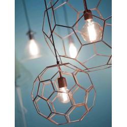 Miedziana lampa wisząca Marrakesh (35cm) - It's About RoMi