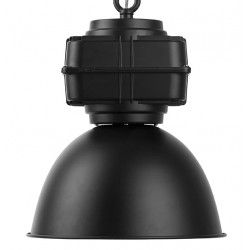Czarna lampa fabryczna LIVERPOOL - It's About RoMi