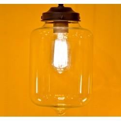 Industrialna lampa ze szkła MINSK - It's About RoMi