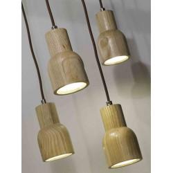 Drewniana lampka wisząca KOBE - It's About RoMi