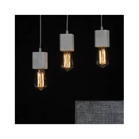 Betonowa lampa wisząca Quadro Light