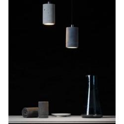 Prosta lampa betonowa - światło LED, wysokość 11