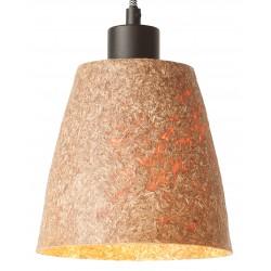 Oryginalna lampa wisząca z drewna z drewna sekwoi - SEQUOIA 1