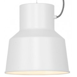 Metalowa lampa wisząca BELFAST - wersja biała