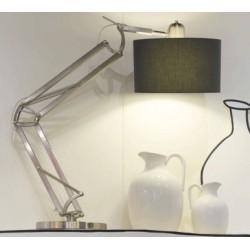 Designerska lampa stołowa MILANO (niklowana) - It's About RoMi