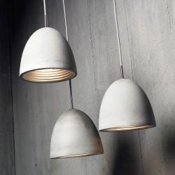 Betonowa lampa wisząca ESka