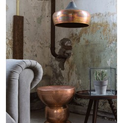 Miedziana lampa wisząca COCO - Dutchbone