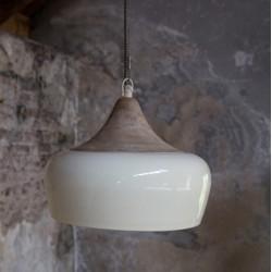Oryginalna lampa wisząca COCO (kość słoniowa) - Dutchbone
