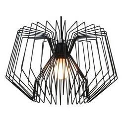 Nowoczesna lampa wisząca o ażurowej formie