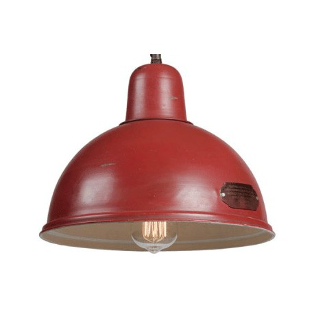 Czerwona lampa industrialna INDICA M