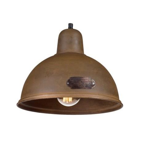 Przemysłowa lampa wisząca INDICA M Rusty