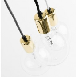 Nowoczesna lampa wisząca Elite Line - gold, copper lub silver