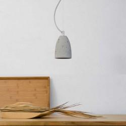 Lampa wisząca betonowa - rozmiar S